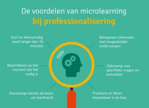 Voordelen microlearning in een oogopslag